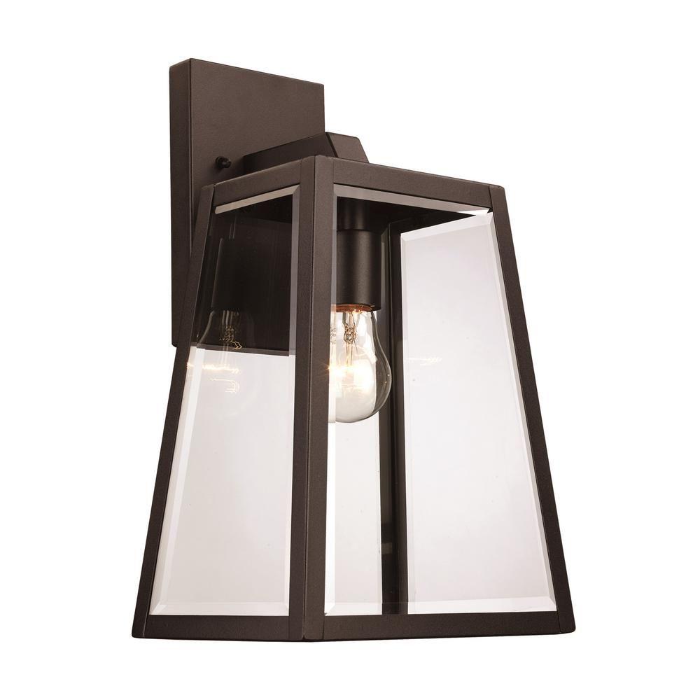 Bel Air Lighting Showcase 1 Light Black And Brushed Nickel