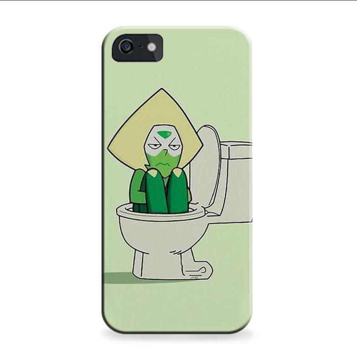 Steven Universe Peridot In The Toilet IPhone 6