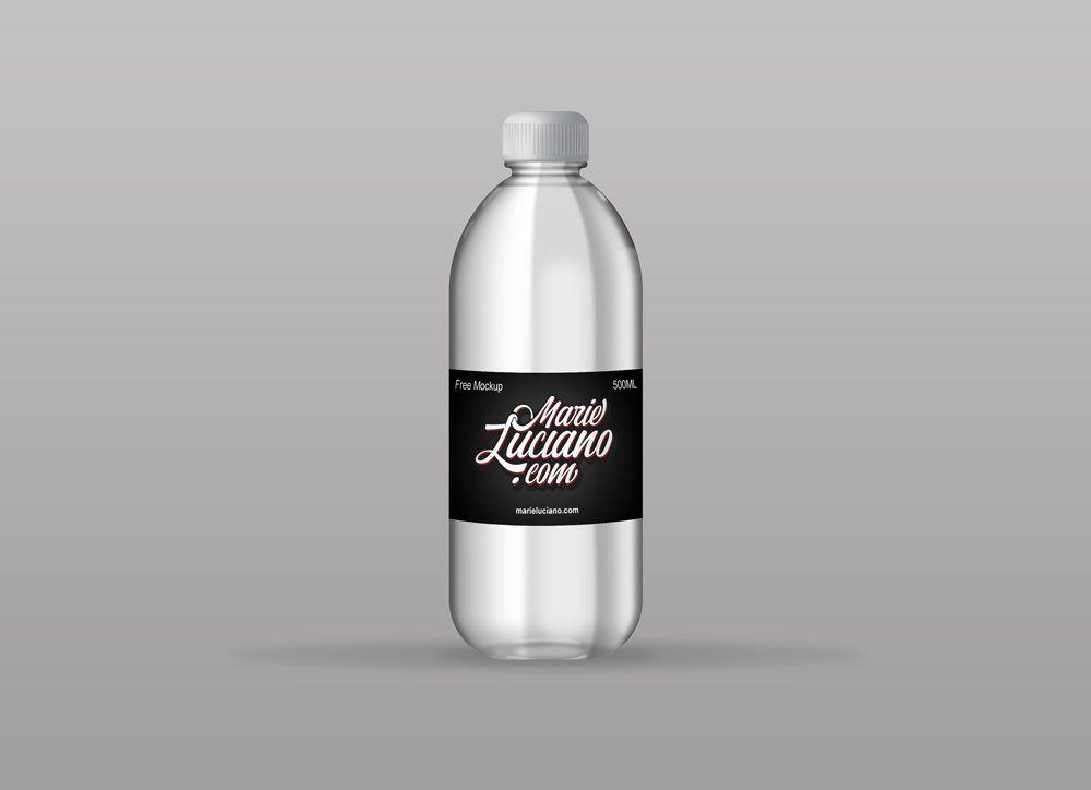 Plastic Water Bottle Mockup Bottle Mockup Water Bottle Free Water Bottle Design
