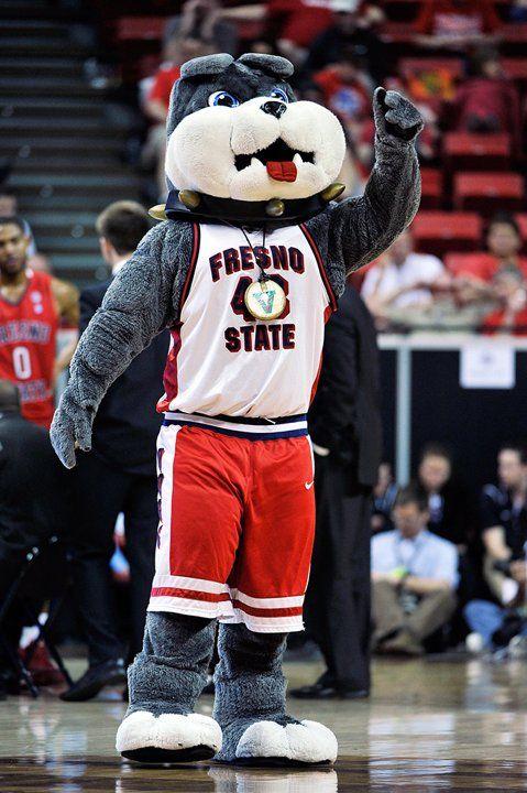 d8680d88b4e Fresno State Bulldogs mascot Victor E. Bulldog