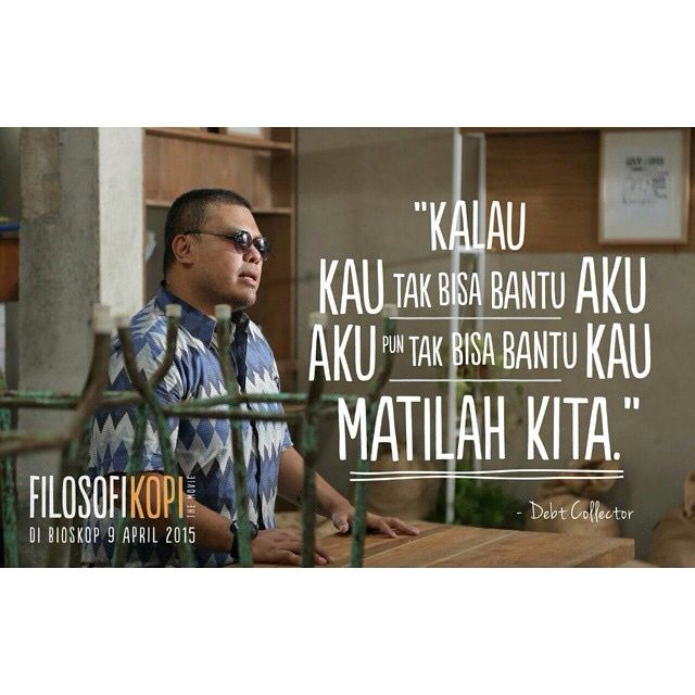 Filosofi Kopi 21cineplexcom Filosofikopithemovie 9 April 2015