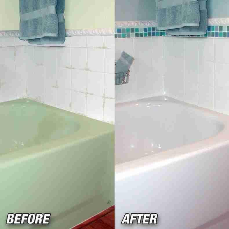 Painting A Bathtub White Home Depot Bathroom Diy Bathtub