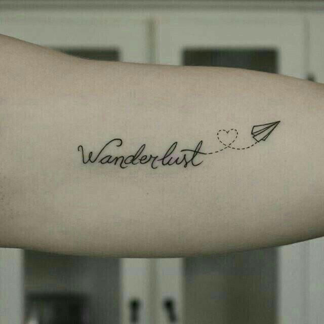 Pasión De Viajar Tattoos Tatuaje Viajes Tatuaje Pequeño De