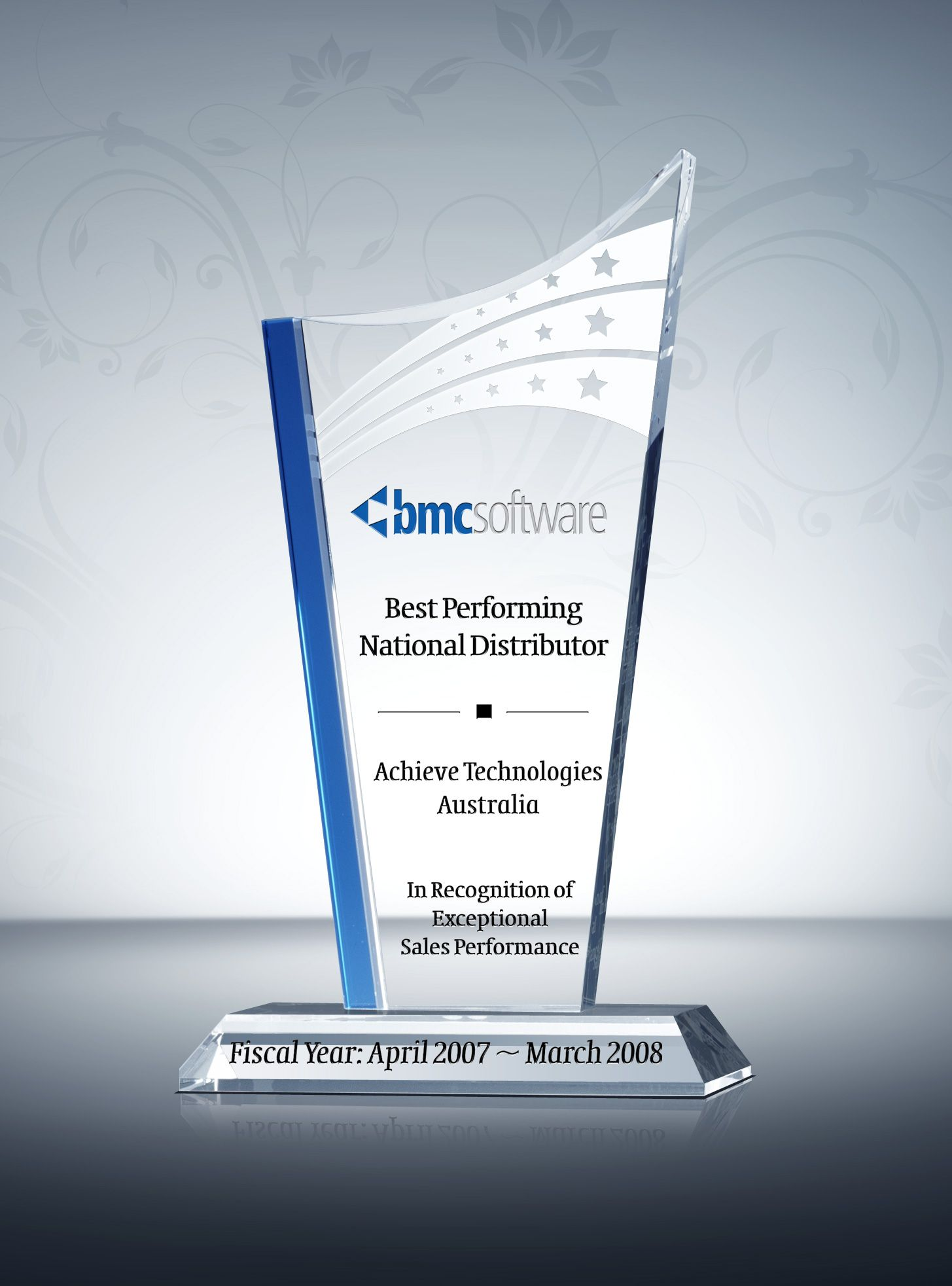 Best Distributor Award Plaque | Employee Recognition ...