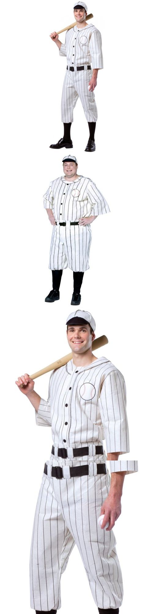 men 52762: baseball costume adult roaring 20s player babe ruth