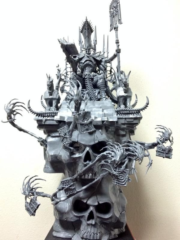 nagash on throne - Google zoeken