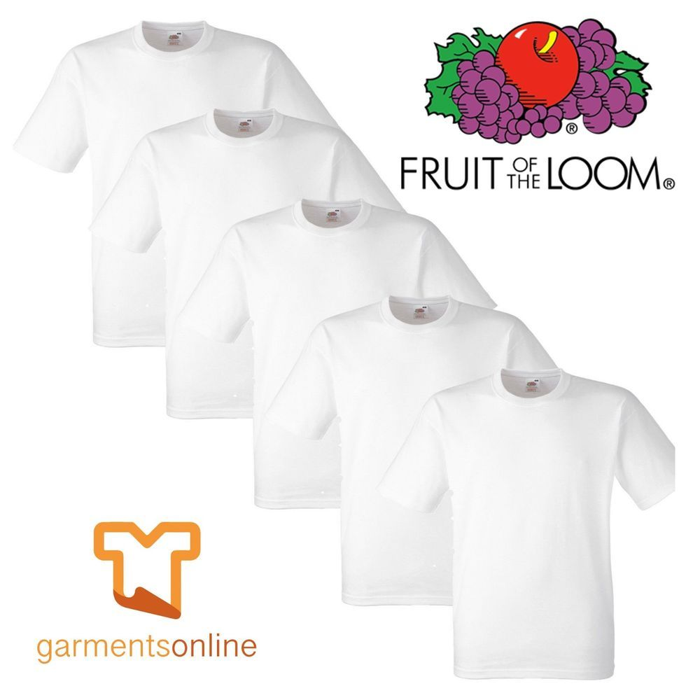 Fruit of the Loom Boys T-Shirt Pack of 10