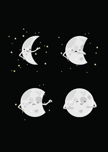 Full Moon by Andres J Colmenares D (Threadless) | Open Me