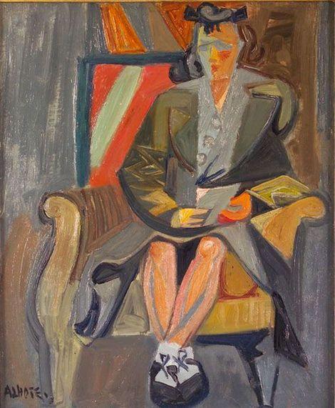 André Lhote (1885-1962), Femme assise, 1930 on ArtStack #andre-lhote-1885-1962 #art