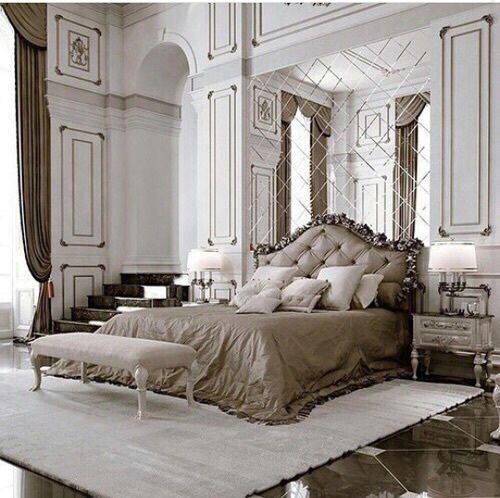 Luxury Mansion Master Bedroom Interior Design: Luxury, Cottage, Villa, Apartment, Vintage, Modern