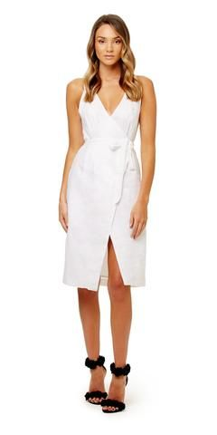 KOOKAI Riptide Wrap Dress For polo race club event jan  88a67131b
