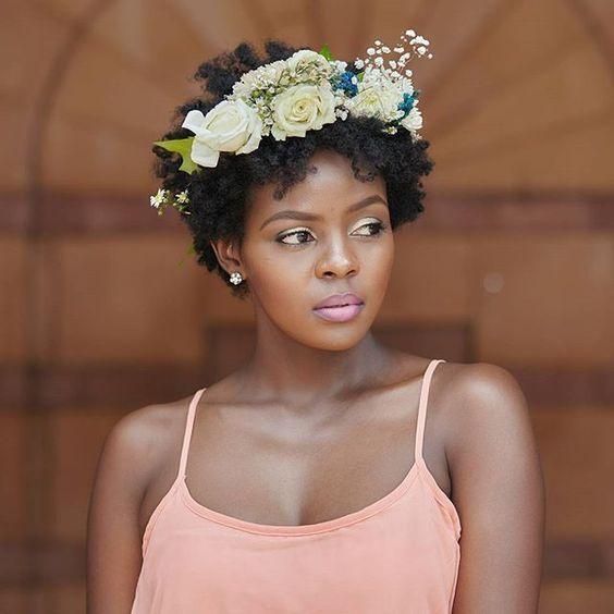 Twa Natural Hair Styles Natural Hair Wedding Natural Hair Bride