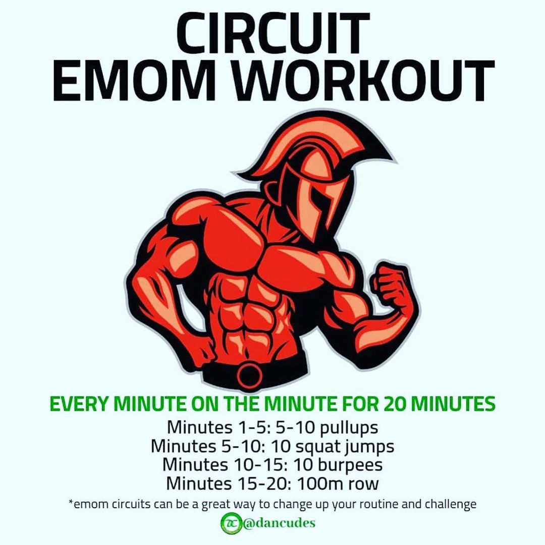 🔥Circuit EMOM workout🔥 . Follow @snm.fit for more fitness and nutrition info👌 - 📌I love EMOM workout...