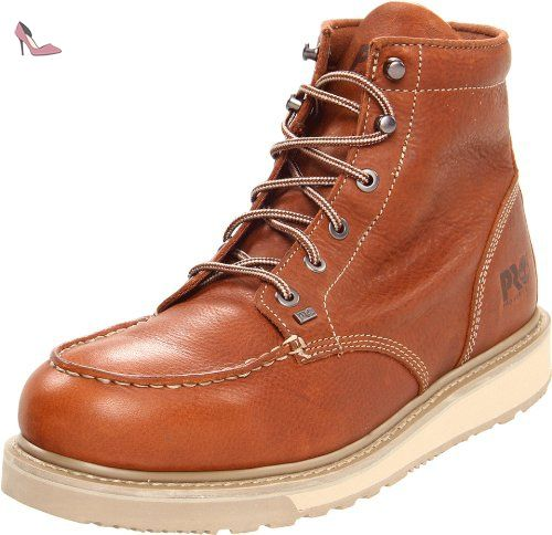 Timberland PRO Men's Barstow Wedge Work Boot,Brown,10 W US: Amazon.fr:  Chaussures et Sacs