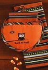 Halloween OWL Potholder & Towel Set HOOT HOOT Cute!