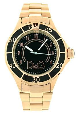 Dolce & Gabbana Women's Anchor Black Dial Stainless Steel #smartbargains