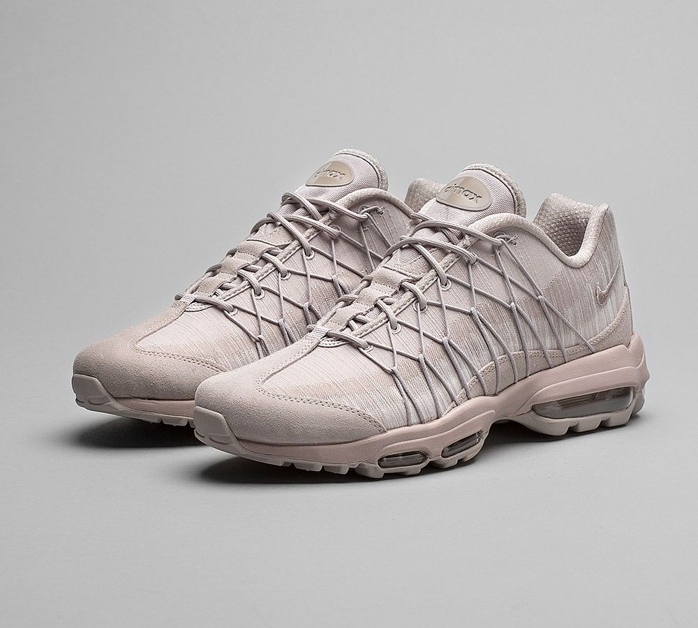 online retailer 147c8 d31a9 Nike Air Max 95 Ultra Jacquard Moon Particle Sepia Stone Shoes