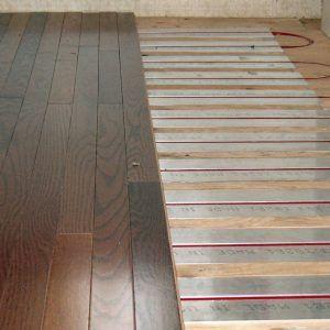 Radiant Heat Under Existing Hardwood Floors