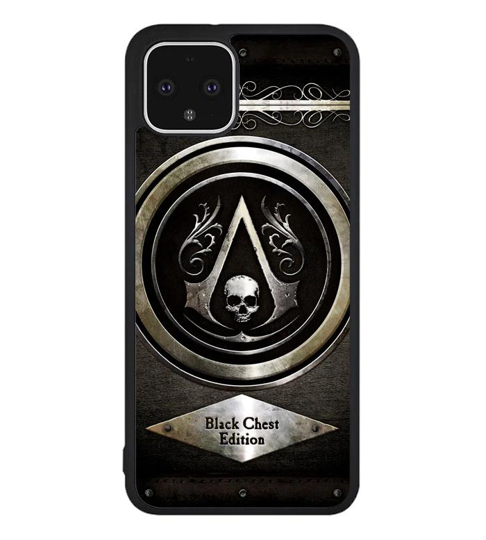 Assassins Creed Black Flag Logo Z5400 Google Pixel 4 Case