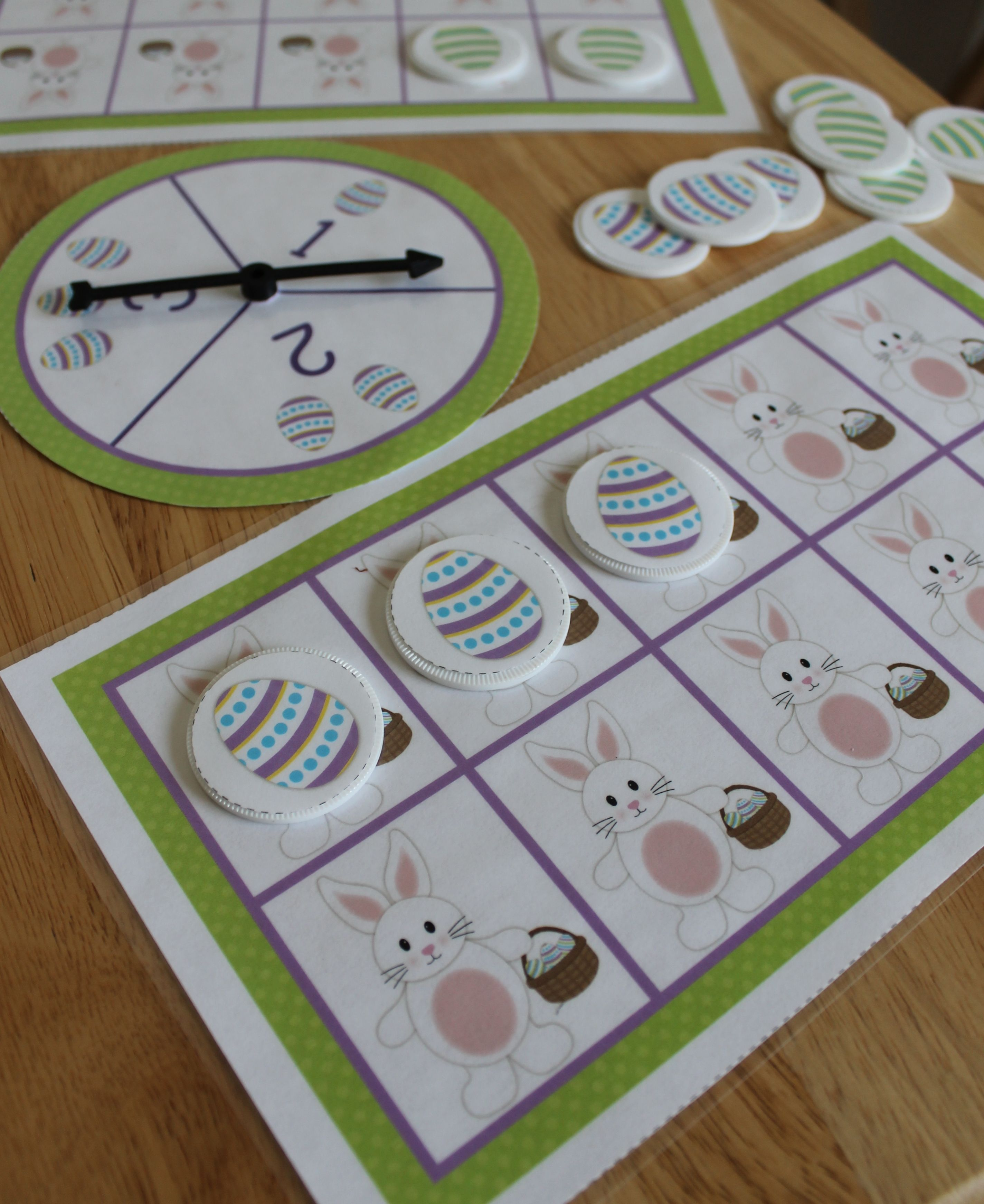 Easter Bunny Math Activities For Preschool Pre K