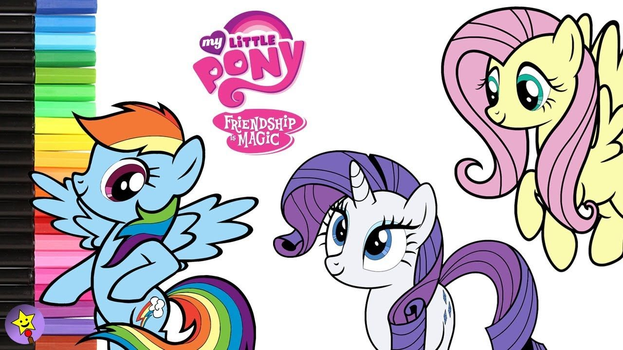 A Compilation Of My Little Pony Coloring Page Videos Rainbow Dash Coloring Book Page Fluttershy Coloring Bo My Little Pony Coloring Rainbow Dash Coloring Books