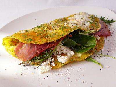 Szendvics omlett