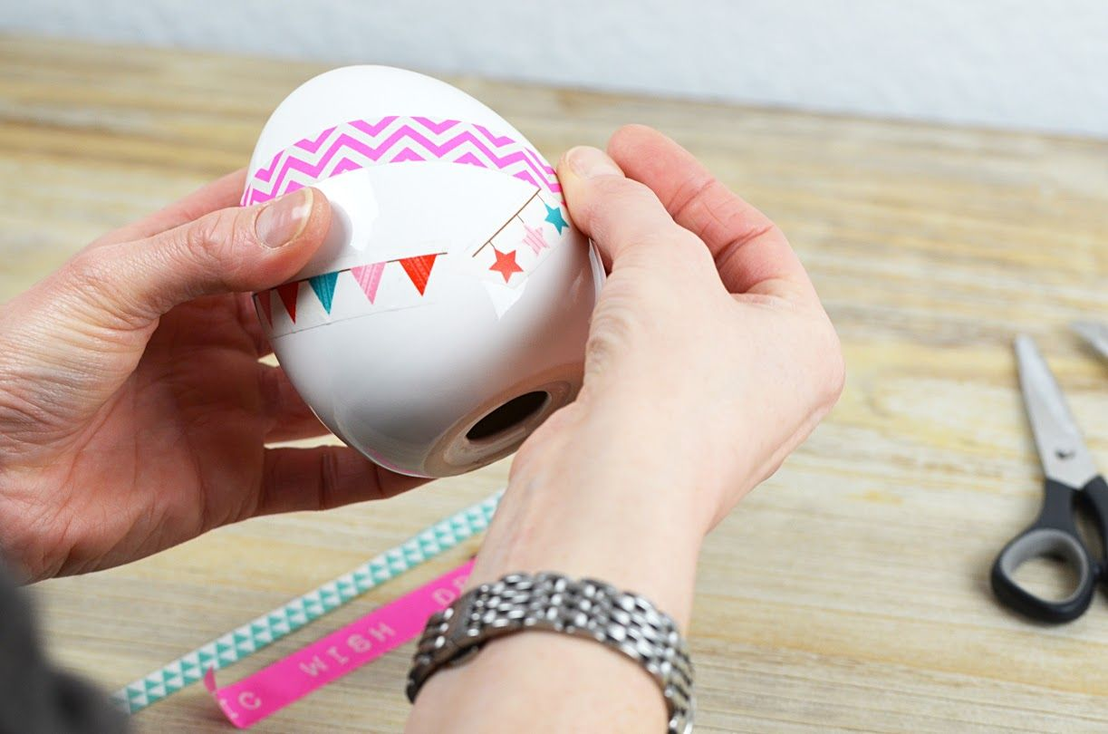 DIY-Osterdeko mit Washi-Tapes