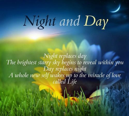 Different Night Time Quotes With Images To Share