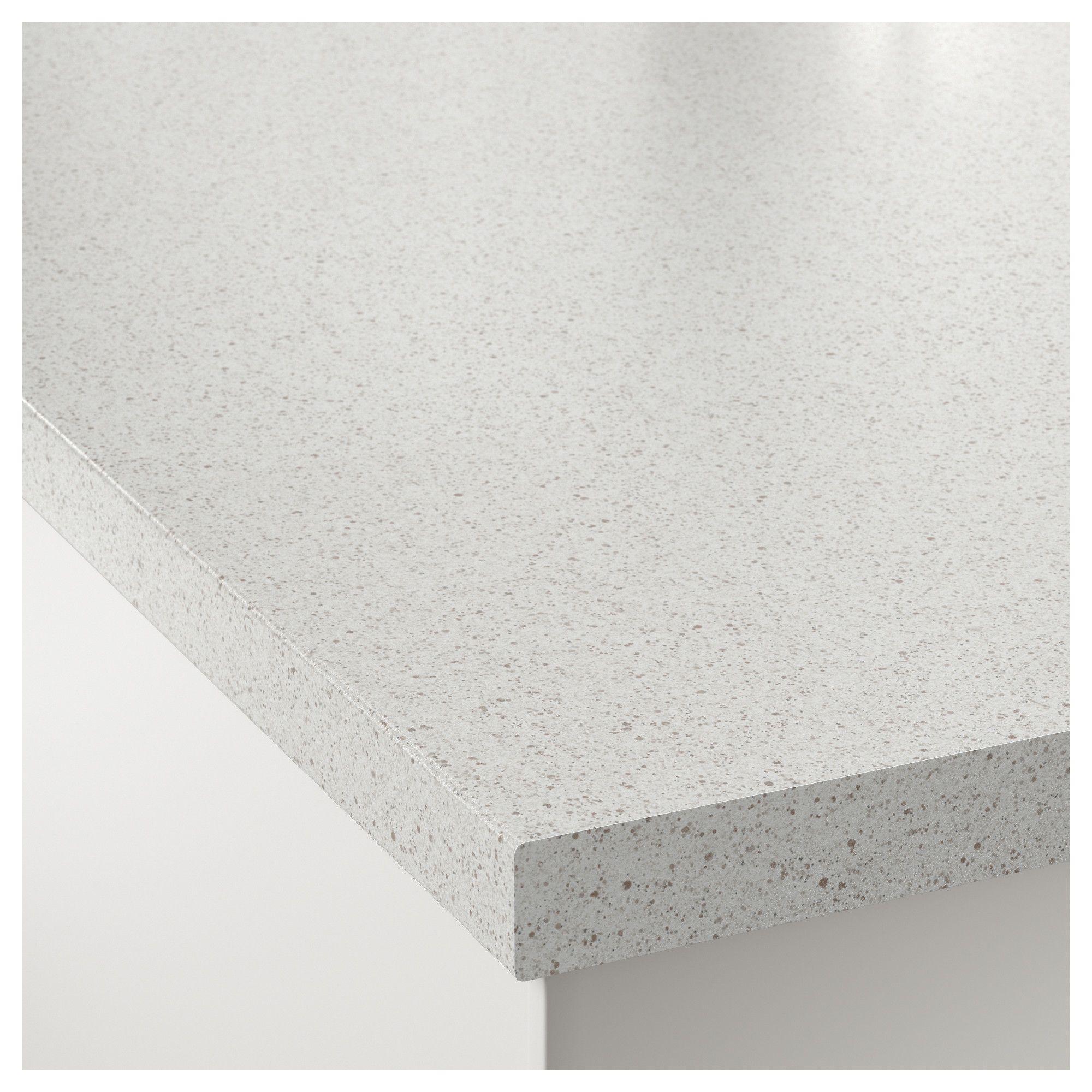 Saljan Countertop White Stone Effect Laminate 98x1 1 2