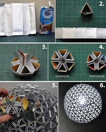 Resultado de imagen para como hacer una lampara de techo paso a paso