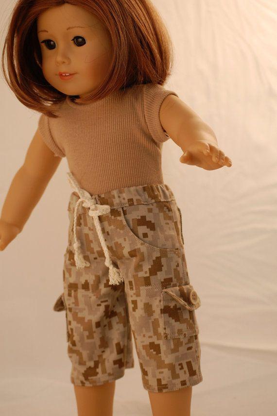 18 Inch American Girl Doll Clothes #boydollsincamo