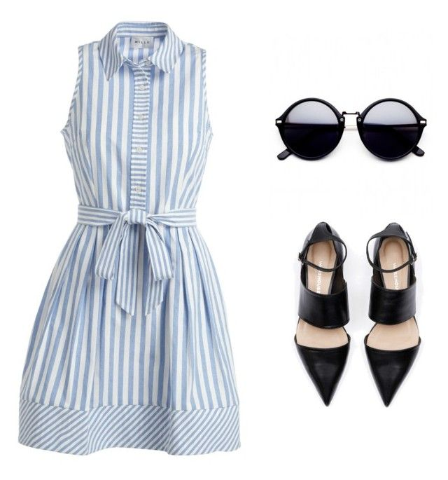 """""""Untitled #1"""" by ivonne-escamilla-rosas on Polyvore featuring Milly"""