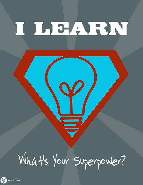 Some one suggested to me that we go with a Super Hero theme for the next school year. If we do, I found poster I want! What's your super power?