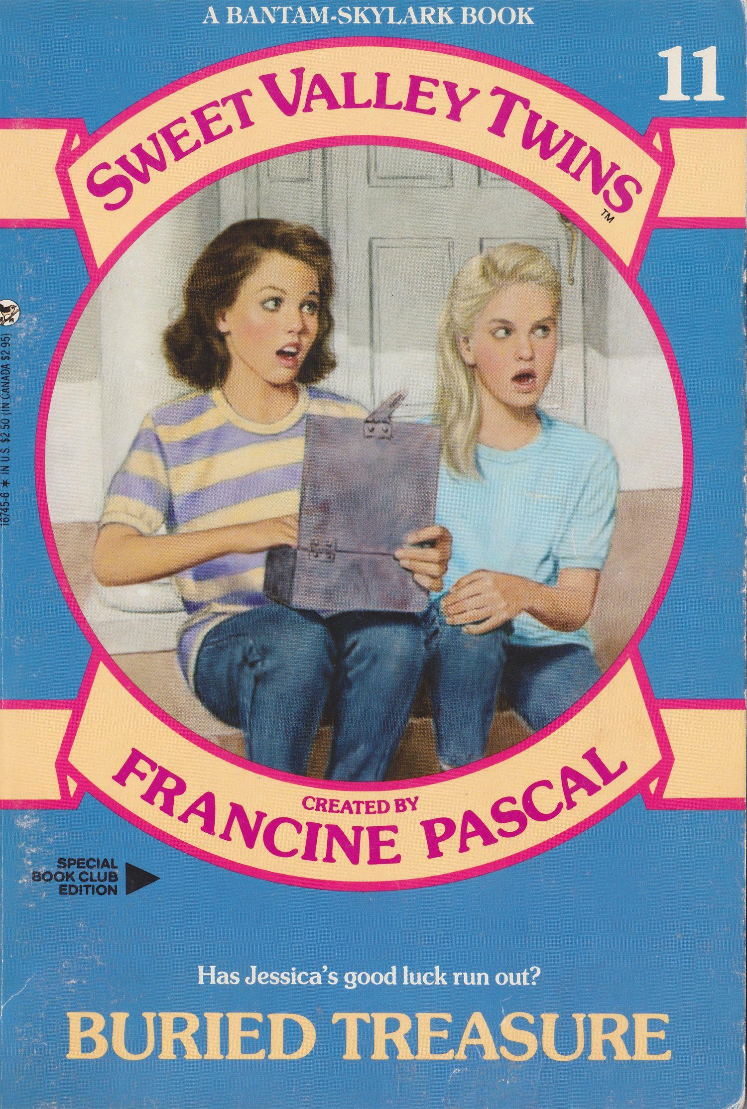 Vol 11 Sweet Valley Twins Buried Treasure By Francine