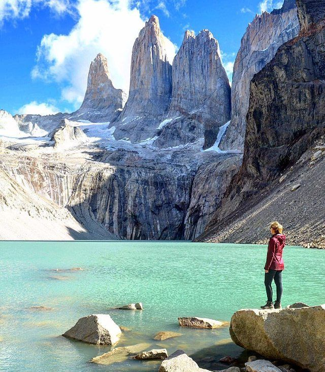 Fantastic view at Torres Del Paine National Park Chile Photo by: @shaylielrod and @megsmcgeee #Exploringglobe by exploringglobe