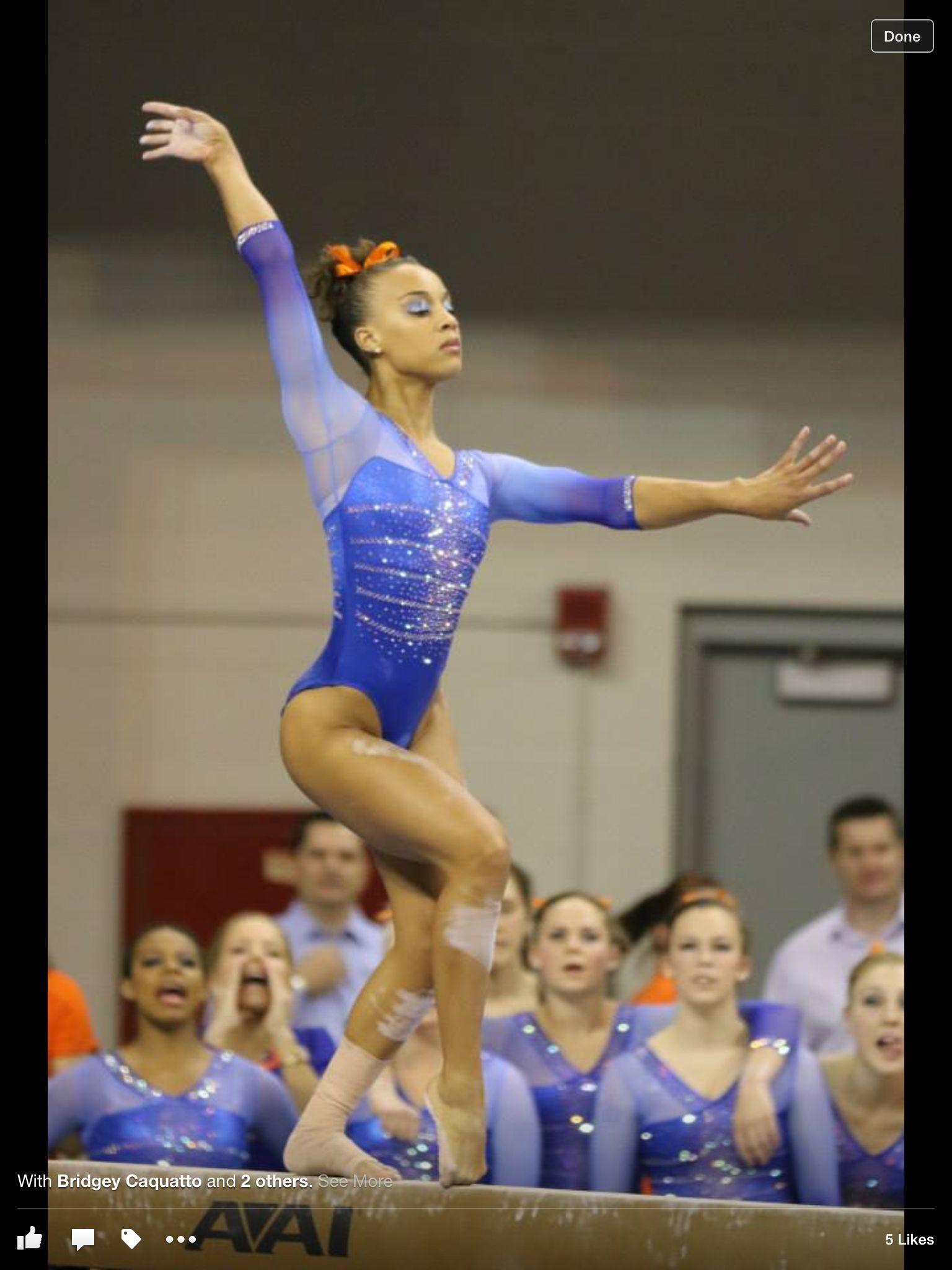 Kytra Hunter from UF gator gymnastics. | Gymnastics team ...