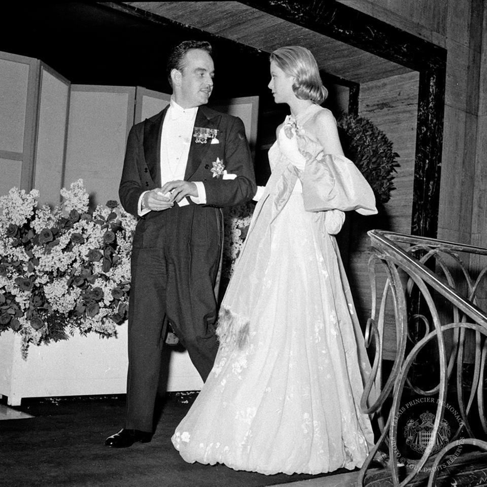 "gracefilm: "" 60th Wedding Anniversary of Prince Rainier and Princess ..."