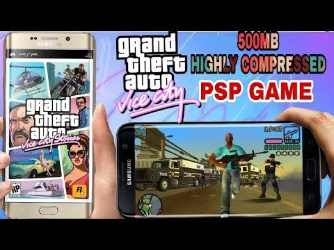 How To Download Gta Vice City 500mb Psp Game Gaming Champion Psp Gta Games