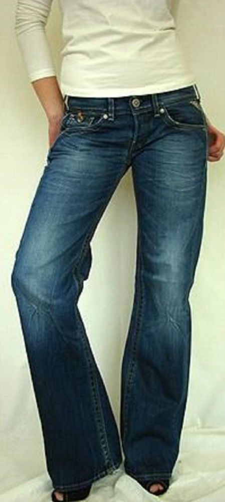 a1bcb504 Details about Replay Jeans Janice Womens Boyfriend 28x34 New ...