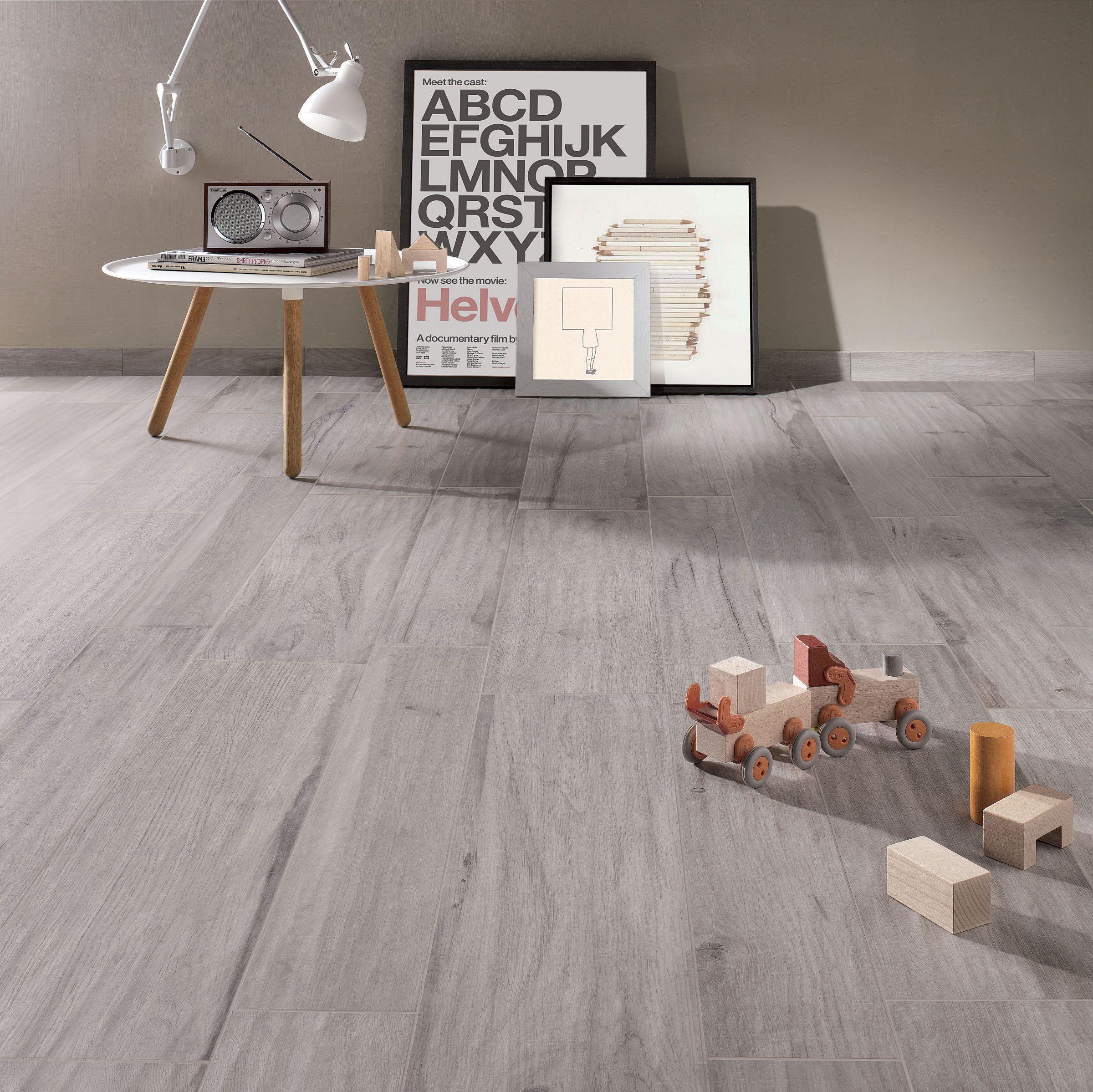 Wall Floor Tiles With Wood Effect Grey Wood Love Love Love Wall And Floor Tiles Living Room Tiles Tile Floor Living Room