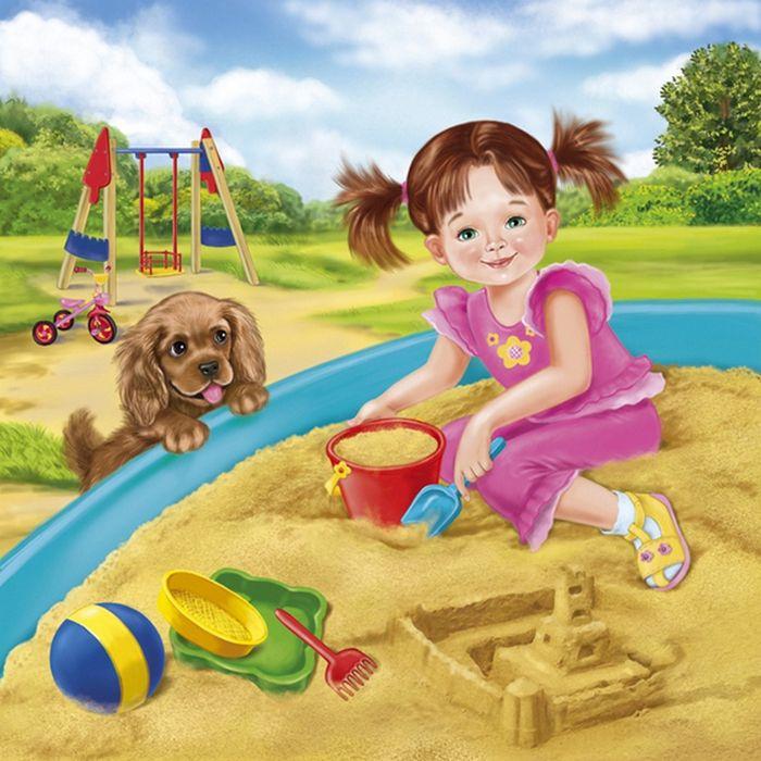 Сюжетные картинки для детского сада лето