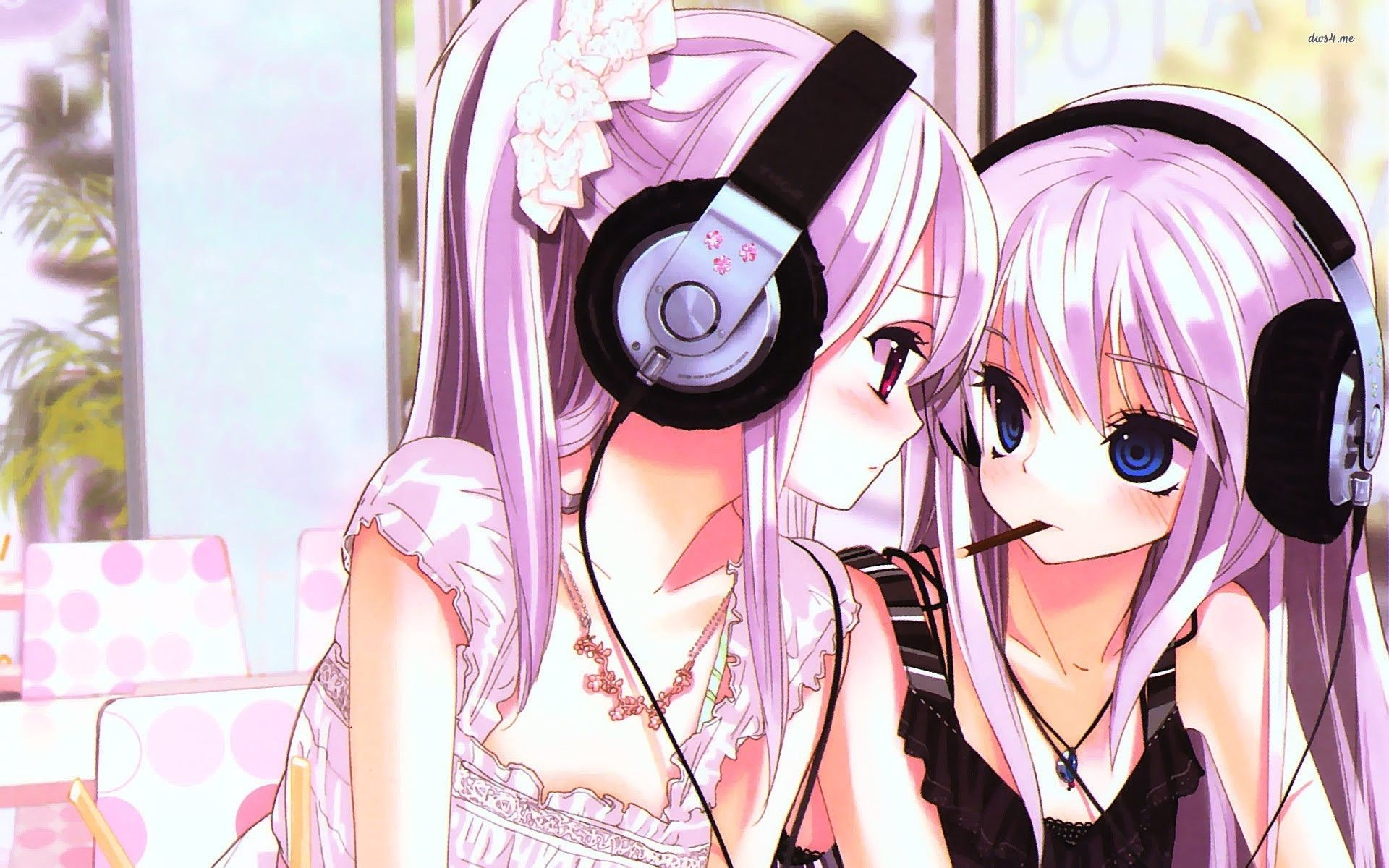 Girls With Headphones Hd Wallpaper Girl With Headphones Anime Wallpaper Anime Wallpaper Download