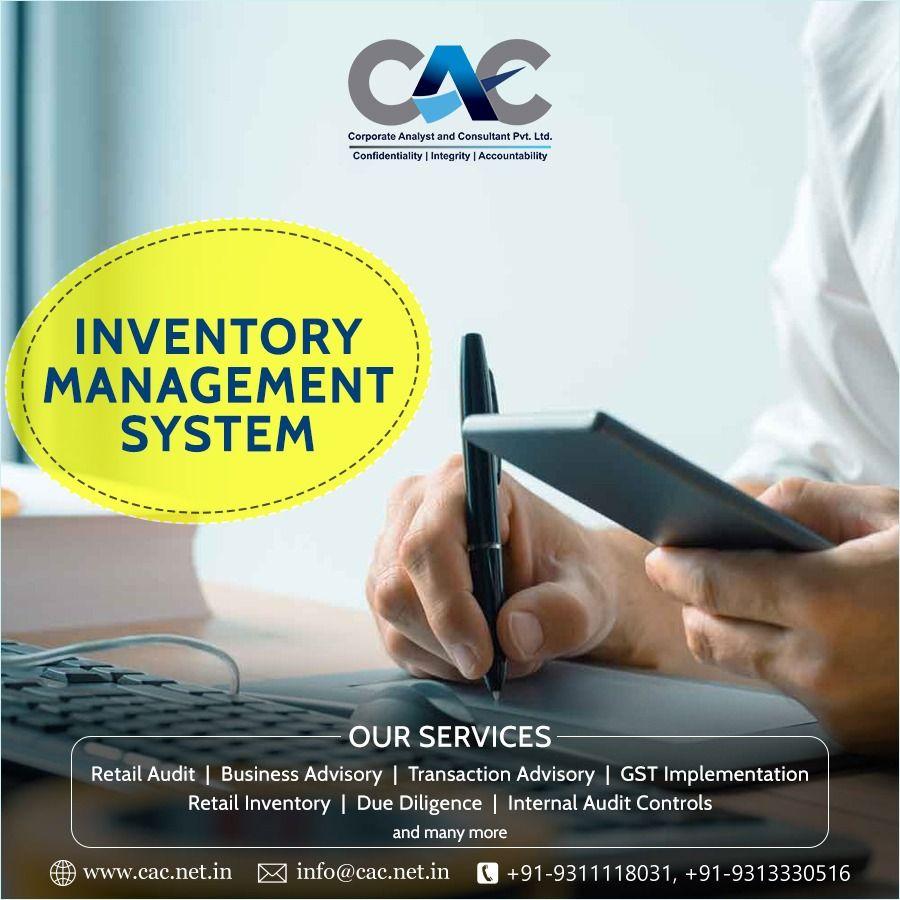 Inventory Management System. #CAC #Retailaudit #Businessadvisory  #Transactionadvisory #Retailinventory #Duedili… in 2020 | Inventory  management, Management, Internal audit