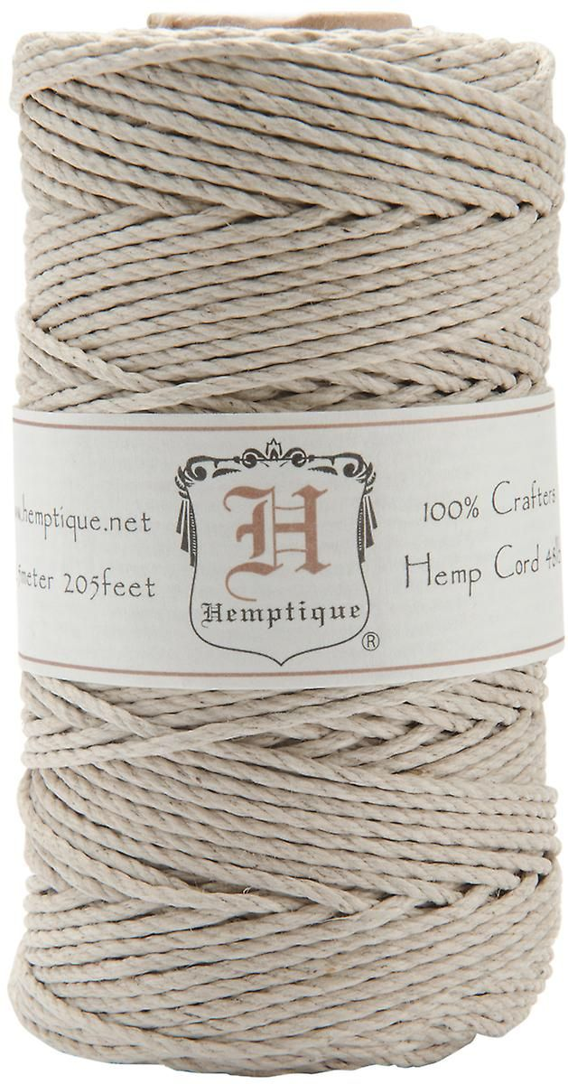 Hemp Cord Spool 48 205 Feet Pkg Natural Hs48na Hemp Cord Hemp Leather Craft Tools