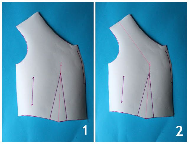 :: paunnet ::: Sureau Sew-along: FBA (full bust adjustment) how-to
