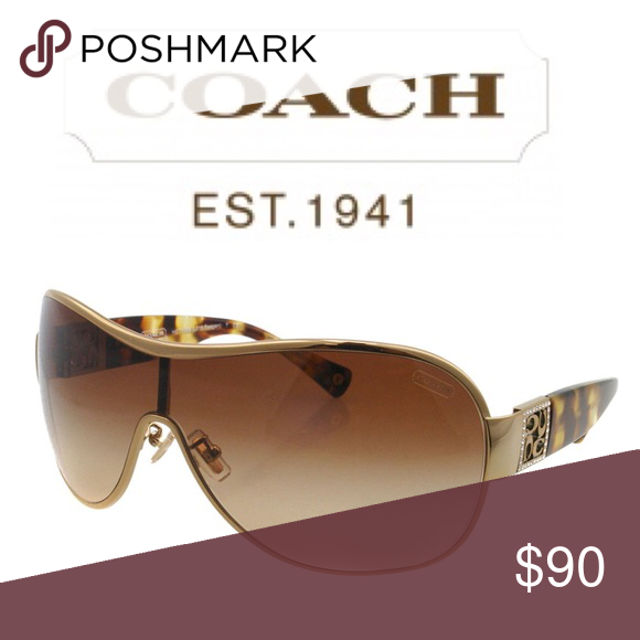 """7ec381d01d Authentic Coach """"Reagan"""" Sunglasses and Case Beautiful sunglasses! Worn  once or twice. They are too big for my face. A Treasure for someone else!"""