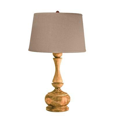 Lamp Works Wood Acacia Urn Table Lamp Table Lamp Wood Tall Table Lamps Table Lamp