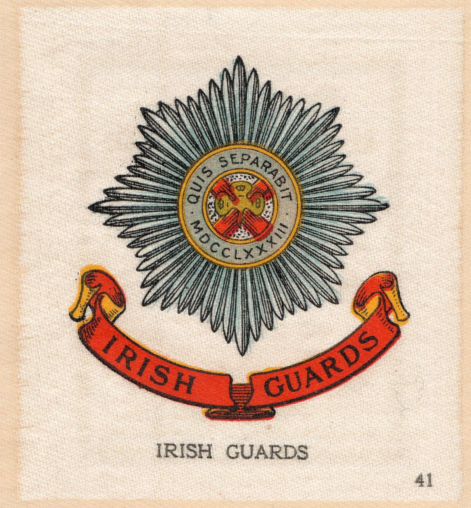 Irish guards british army flag colors modern warfare