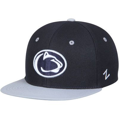 e313b2859e5014 Youth Zephyr Navy/Gray Penn State Nittany Lions Z11 Snapback Adjustable Hat