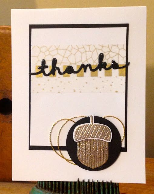 Trinity Designs: #Thankful29 Project - A Card a Day in November (Day 6)